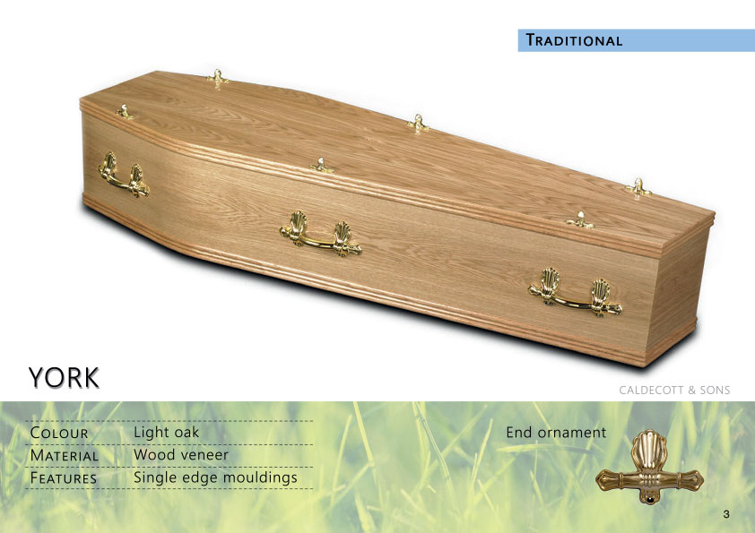 Coffins, Caskets & Keepsakes - Caldecott & Sons